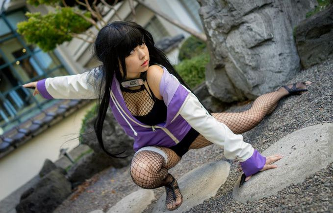 "Hinata Hyuga (Naruto) Cosplay by usaGG (Strawberry Censor Team) usaGG Profile : http://cosplaymaniax.com/cosplay/""-strawberry-censor-team/ More photos Visit : https://www.facebook.com/cosplaymaniax?ref=hl"