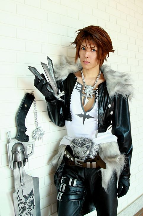 "Squall Leonhart (Final Fantasy VIII) Cosplay by KANON KANON Profile : http://cosplaymaniax.com/cosplay/""-kanon/ More Photos Visit here : https://www.facebook.com/cosplaymaniax?ref=hl"