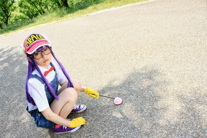 "Arale Norimaki (Dr.Slump) Cosplay by Rinto Tocchi Rinto Tocchi Profile : http://cosplaymaniax.com/cosplay/""-rinto-tocchi/ More Photos : http://cosplaymaniax.blogspot.com/ Visit here : https://www.facebook.com/cosplaymaniax?ref=br_tf"