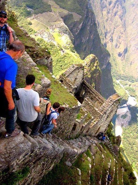 Hiking Huayna Picchu, Machu Picchu, Peru. Apa ada yang mau mencoba??