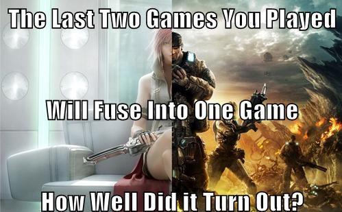 Sebutkan 2 game terakhir yg kau mainkan... Game itu akan menjadi 1.. Sekeren apa -kah game itu :v? Punya kamu kyk mana? klo ane sih PES + GTA SA...