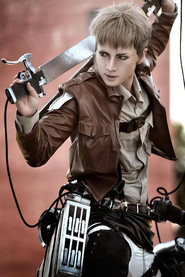 Jean Kirschtein (Shingeki no Kyojin) Cosplay by Reika Reika Profile : http://cosplaymaniax.com/cosplay/reika/ More Photos Like us : https://www.facebook.com/cosplaymaniax Blog : http://cosplaymaniax.blogspot.com/