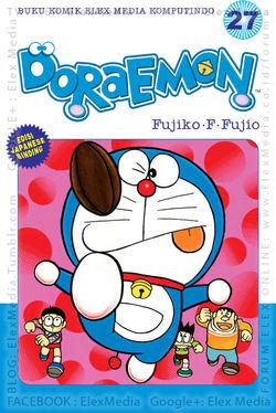 #BukuBaru Segera Terbit! Kali ini Doraemon punya alat penjinak untuk Giant yang memang jahat dan sok kuasa. DORAEMON vol. 27 http://ow.ly/pFwNH mobile http://ow.ly/pFwOZ Harga: Rp. 18,500