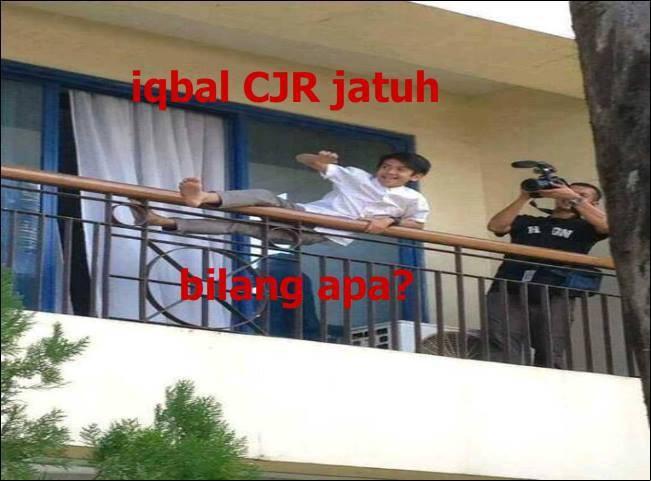 Iqbal CJR jatuh bilang apa ?