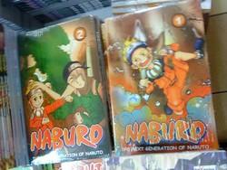 Komik Naruto buatan Indonesia