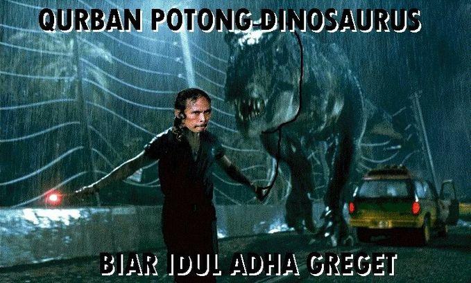 Idul Adha Qurban Kambing/Sapi?? udah biasa! Biar iadul adha makin greget nihh Mad Dog Qurban Dinosaurus wkwkwk jangan lupa WOW nya! visit : http://caraapapun.blogspot.com/