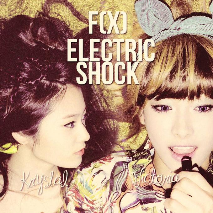 krystal dan victoria f(x) di Electic Shock