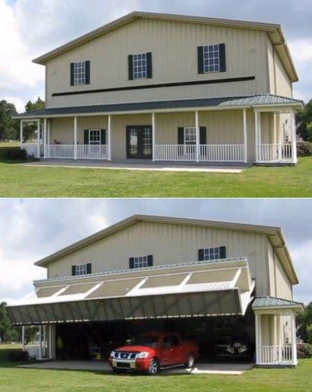 Rumah sederhana yang sengaja di disain untuk tempat usaha service mobil oleh pemiliknya, sekilas tampak dari luar, merupakan bentuk sebuah rumah sederhana kebanyakan di daerah ini, dan siapa sangka ternyata ini adalah sebuah bengkel..^__^ wow