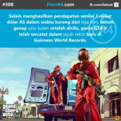 Rekor GTA V di Guinness World Records