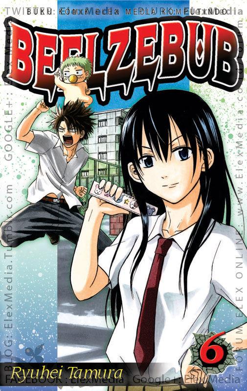#BukuBaru Segera Terbit! Dalam perjalanan mencari Angelica, Oga dan Furuichi bertemu raksasa. Tiba-tiba Beel-Boy pun berubah menjadi raksasa! BEELZEBUB vol. 06 http://ow.ly/pTy0X mobile http://ow.ly/pTy2r Harga: Rp. 18,500