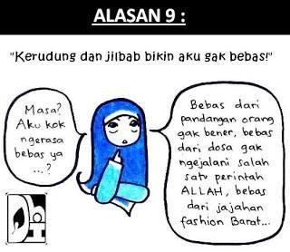 Masa sih girls?klo pke jilbab tuh gak bebas?