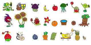 plants vs zombies versi buah dan sayuran............