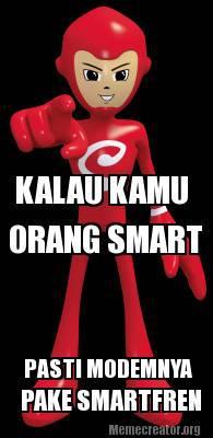 saya pake modem smartfren sudah 1 tahunan, dan masih setia sampe sekarang :) #SmartMeme