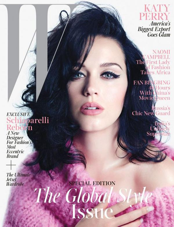 The Glamour Katy Perry in W Magazine