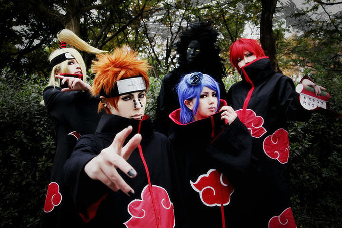 Akatsuki Team (Naruto Shippuden) Cosplay by Yuito & Friends Yuito Profile : http://cosplaymaniax.com/cosplay/yuito/ More Photos Visit us : https://www.facebook.com/cosplaymaniax Blog : http://cosplaymaniax.blogspot.com