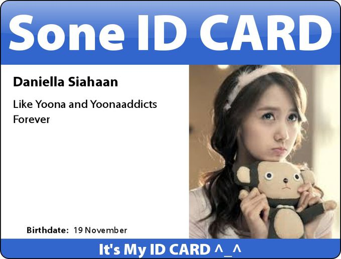 My ID CARD ^_^