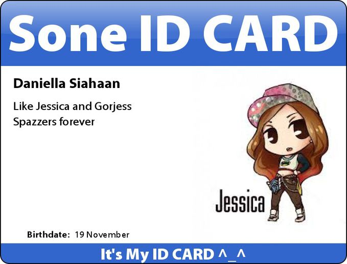 This My ID CARD TO!! ^_^