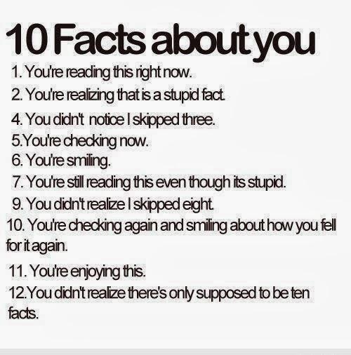 10 Facts About You (10 Fakta Tentang Kamu) - see more: http://gallianmachi.blogspot.com/