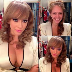 Bintang Porno Sebelum dan Sesudah Make-up (26 pics)