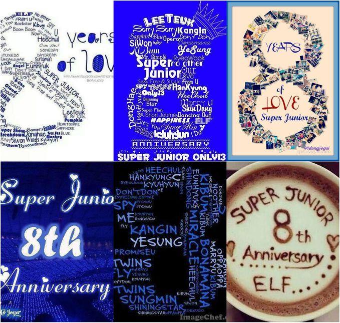 <3 Super Junior 8th Anniversary <3