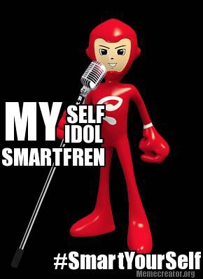 MYSELF MY IDOL MY SMARTFREN! #smartyourself