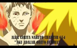 Alur Cerita Naruto Chapter 654 - Aku Adalah Uchiha Obito