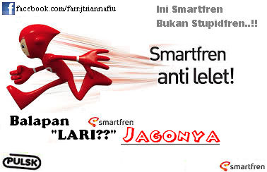 #SmartMeme Smartfren itu bukan Stupidfren, jago lari pula gak lelet kayak keong wkwkwk...