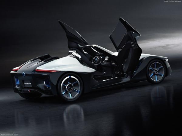 WOW... Nissan BladeGlider Concept merupakan mobil sport dengan tampilan yang futuristik. Hanya bisa menampung 3 penumpang digerakkan tenaga listrik.