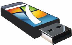Instal WIndows 7 dari FlashDisk tanpa Software Tambahan