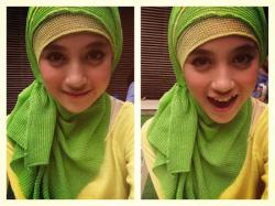 Jilbab ala Nabilah (JKT 48) | Jilbab ala Artis. Bayangin kalau salah satu personil JKT 48 mengenakan jilbab, akan seperti apa ya.. tentu menarik, lebih cantik dan sempurna lagi. Hmm, tapi iya ada hlo yaitu Nabilah yang pernah share fotonya saat berhijab. >> http://www.situsku.biz/2013/11/jilbab-ala-nabilah-jkt-48/
