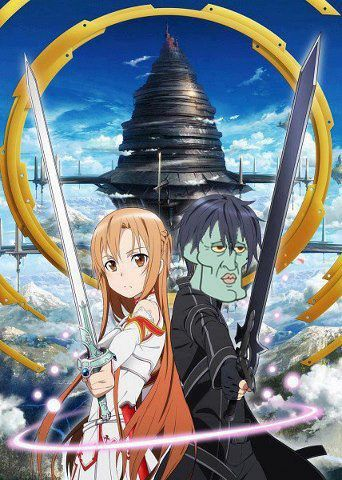 Sword Art Online Asuna&KiriSquid; WOW2