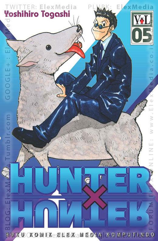 """#BukuBaru Segera Terbit! """"Pembunuh tak butuh teman"""". Bagaimana nasib Killua yang gagal menjadi hunter? HUNTER X HUNTER vol. 05 http://ow.ly/r27Lz mobile http://ow.ly/r27MB Harga: Rp. 18,500"""