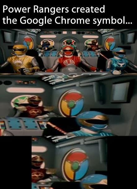 Power Rangers Lebih Dulu Menciptakan Logo Google Chrome - see more fun : http://gallianmachi.blogspot.com/