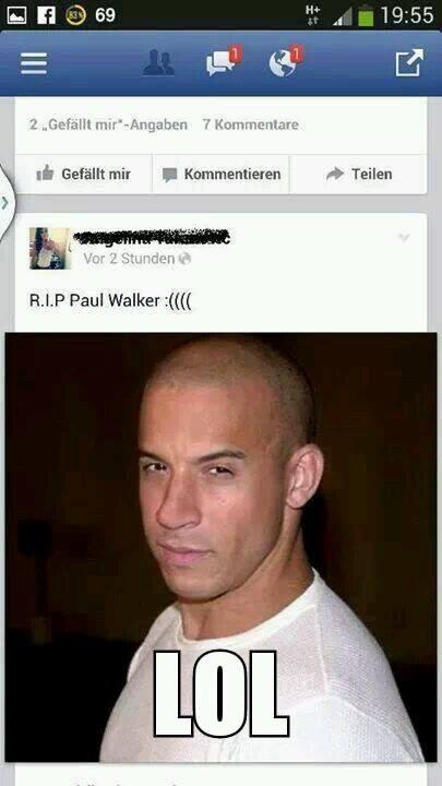 RIP PAUL WALKER ..