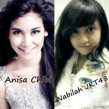 Cantik mana Nabilah sama Anisa? Kalau menurutku cantik Nabilah JKT48 :)