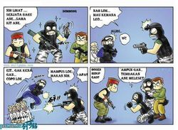 Komik - Counter Strike