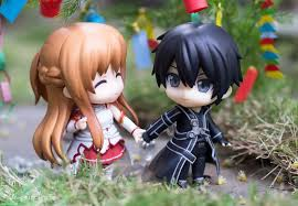 this is Sword art Online Nendoroid Click Wow if you like this