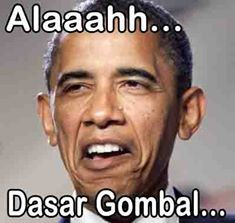 Inilah Expresi PRESIDEN AMERIKA SERIKAT Barrack Obama Ketika Melihat Orang Yang Sedang Merayu Cewek . . . . Karena . . . . .