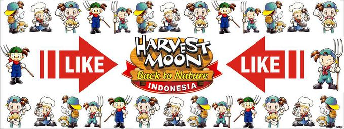 HARVEST MOON BACK TO NATURE