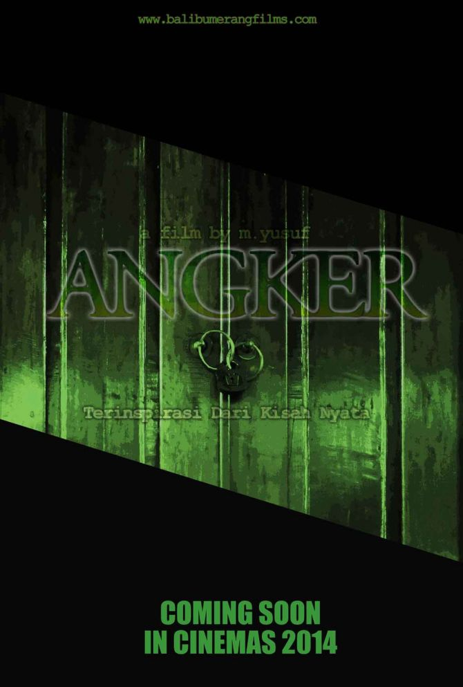 Teaser POSTER FILM Angker The Movie COMING SOON 2014 #AngkerTheMovie