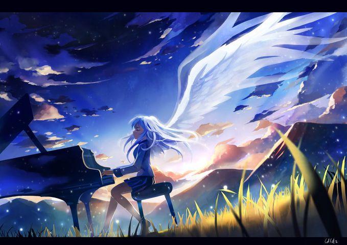 Kanade Tachbana(Angel Beats)