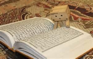 danbo aja bisa baca al-quran.. masak kita gg bisa baca al-quran.. yang bisa baca al-quran .. jangan lupa wownya..
