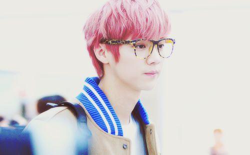 cute bgt hair nya si luhan exo m ^_^