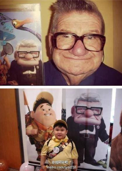 tidak di sangka mereka benar benar wujud bagi aku (UP) adalah sebuah animasi terbaik terbitan pixar animation studios ,,, film animasi penuh drama yang membuat meleleh air mata ,,