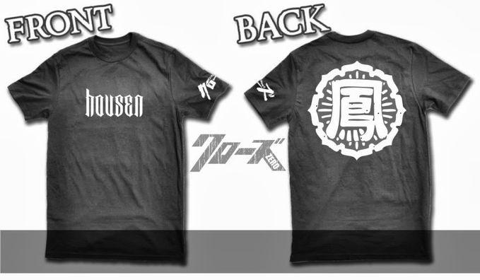 T-shirt Housen - Crows zero