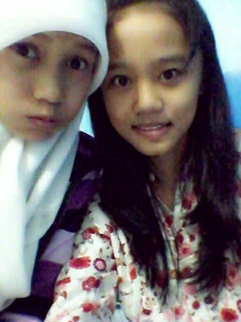 My friend and me