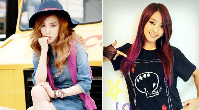 Tiffany `Girls Generation` dikabarkan tengah berseteru dengan salah seorang personel SISTAR yaitu Bora. Dua idola hallyu ini bahkan dilaporkan saling memendam kekesalan. lebih jauh, mereka justru menjadi saingan berat di bidang fashion.