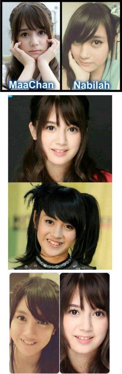Coba sekarang kalian pilih yang mana ?? Nabilah JKT48 atau Maachan AKB48,, isi di komentar ,,,