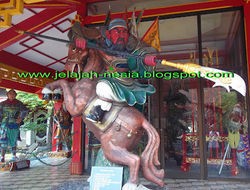 Jejak Dewa Kwan Kong Di Kelenteng Kwan Sing Bio Simak kisahnya di link berikut ini, ya : http://jelajah-nesia2.blogspot.com/2013/12/jejak-jenderal-kwan-kong-di-kelenteng.html