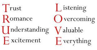 kepanjangan dari TRUE LOVE